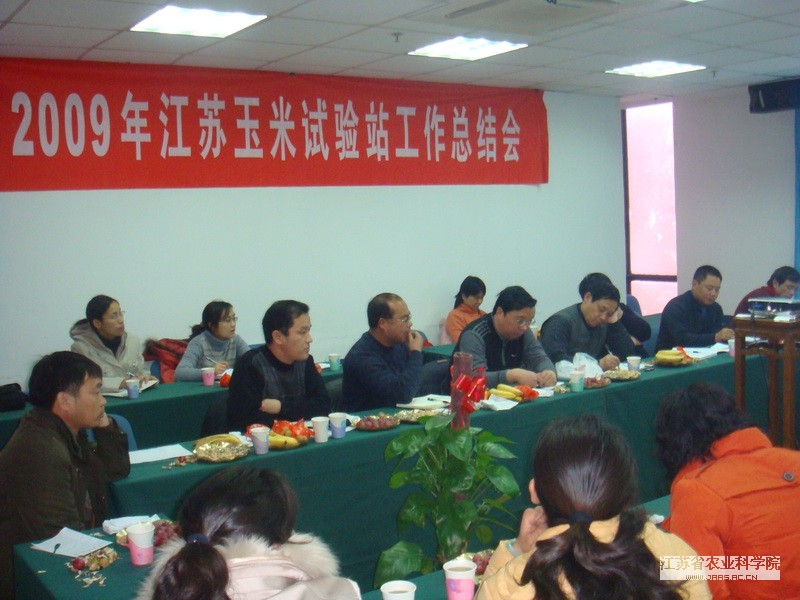 National Maize Industry & Technology System Annual Meeting (Jiangsu Integrative Test Station) Held in JAAS