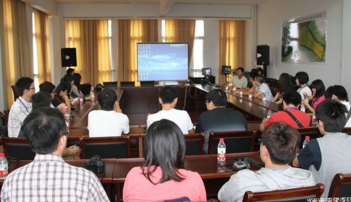 A delegation from Taiwan universities visited Luhe Animal Sciences Station (LASS) of JAAS