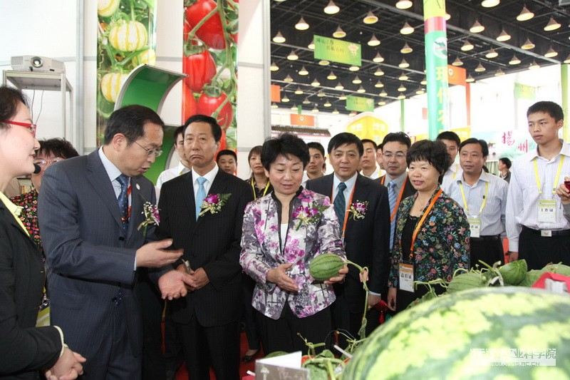 JAAS attended the 13th Jiangsu International Agri-expo (Agri-expo 2011)
