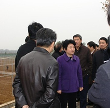 Deputy Governor Huang Lixin made an academic visit to JAAS