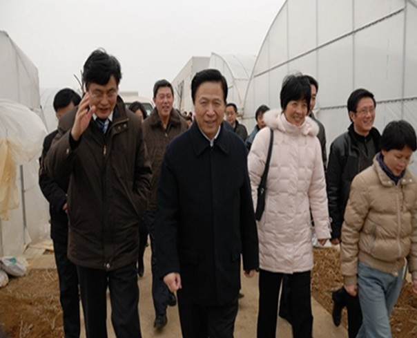 Liang Baohua, Secretary of CPC Jiangsu Provincial Committee and Governor Luo Zhijun inspected JAAS