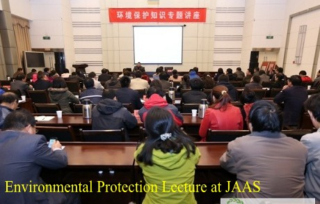 Environmental Protection Lecture at JAAS