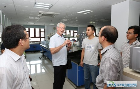 Dr. Hans R. Herren of United States National Academy of Sciences (NAS)  visited JAAS